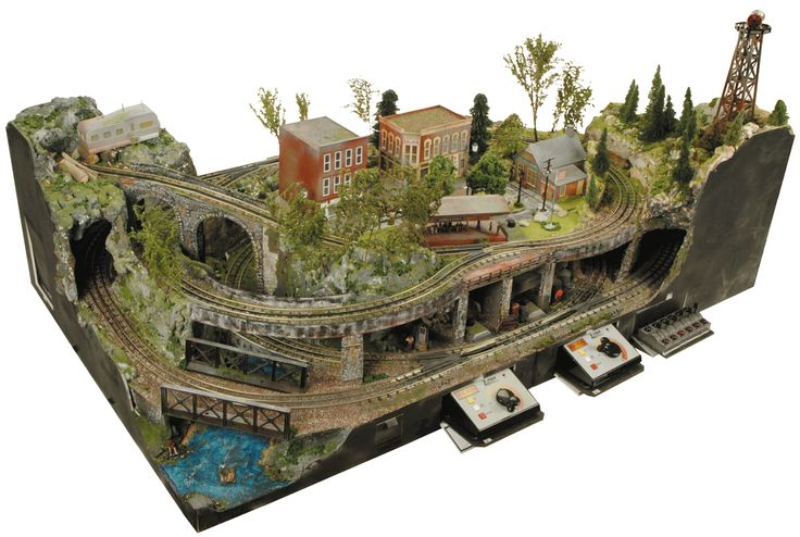 Think I've pinned this before, but.... Have you ever wanted to build a train layout, but didn't know where to start? RR in a Box can help you get started with no wood or power tools necessary.  Check them out at www.rrinabox.com.