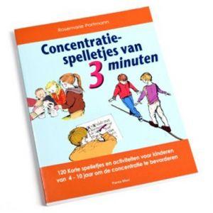120 Korte spelletjes en activiteiten voor kinderen van 4 – 10 jaar om de concentratie te bevorderen http://www.specials4schools.com/shop/nl/3-6-jaar/planning-en-structuur/concentratie-spelletjes-van-3-minuten/