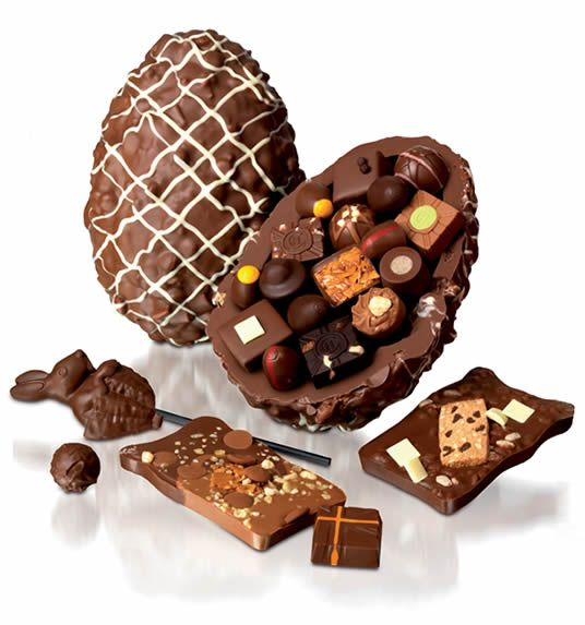 #Chocolate Easter Egg