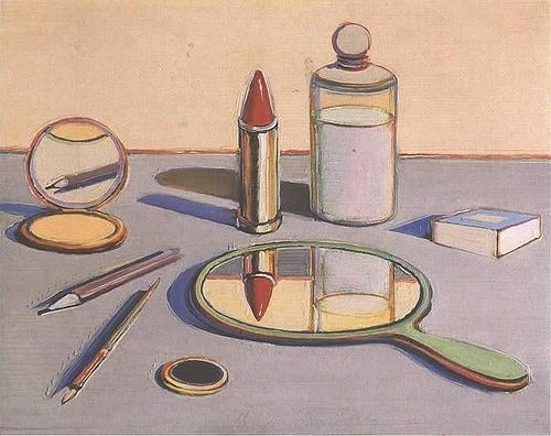 Cosmetics, 1964 -  Art by Wayne Thiebaud.
