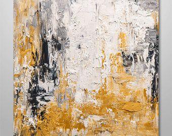 Resumen arte de la pared, pintura abstracta, pintura acrílica, pintura de textura, pintura original, arte de la lona, decoración, orgánica, contemporánea del hogar