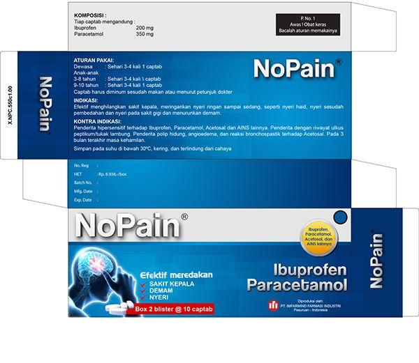 Medicine Nopain on Behance