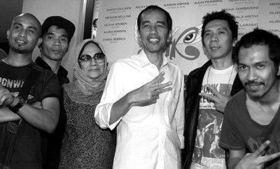 Slank Dukung Jokowi-JK, Bimbim: Kami Siap Jadi Juru Kampanye