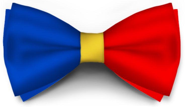 Papiox.ro recomandă papionul Tricolor din categoria Evenimente cu materiale: Bicolor