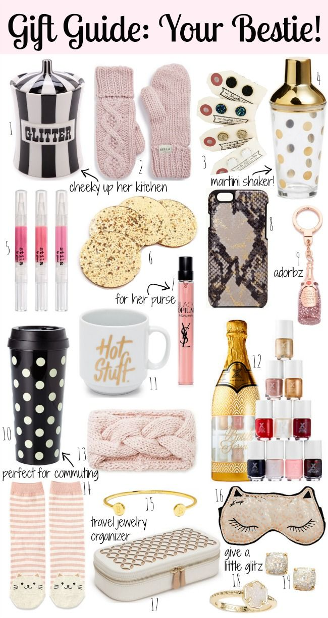 Holiday Gift Guide: Your Bestie | Me myself & I | Gifts, Holiday ...