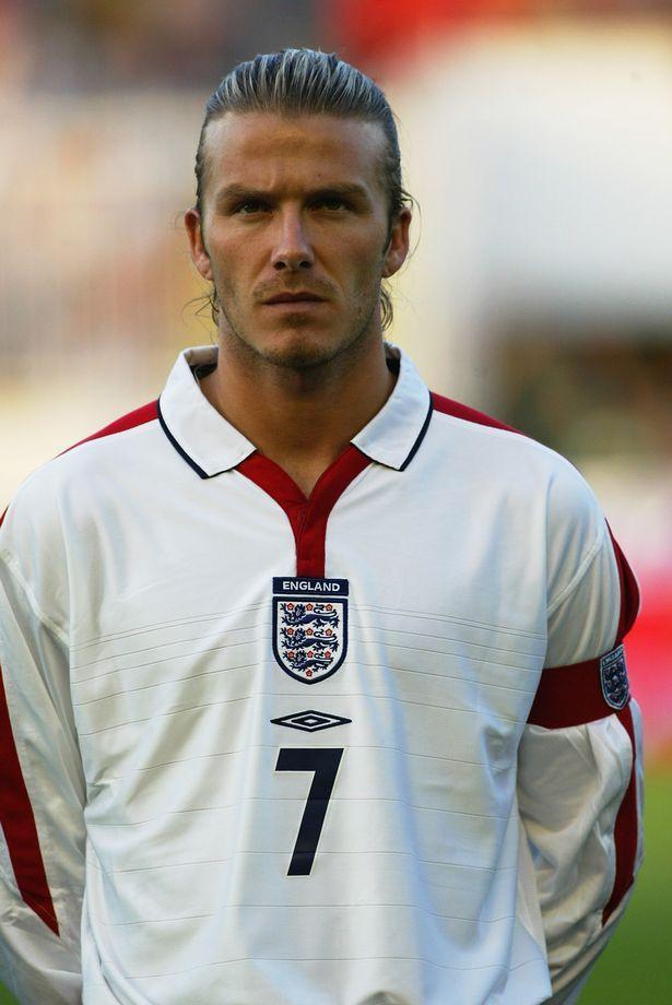David Beckham OBE, 115 England caps, Goals 17.He also won 6 premier league titles, 2 FA cups and one European Champions league. B 1975.