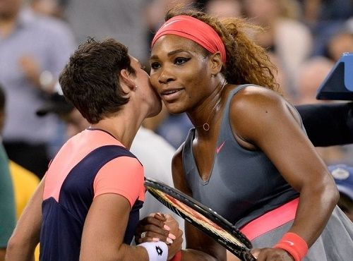 Serena Williams to meet Carla Suarez Navarro in Madrid Open quarter-final 2015 today on 7 May. Get Serena vs Carla Suarez match preview and live streaming.