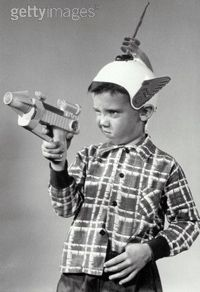 Vintage Photos Of Vintage Space Toys