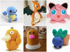 11 x Crochet Pattern Pokemon GO [Free]