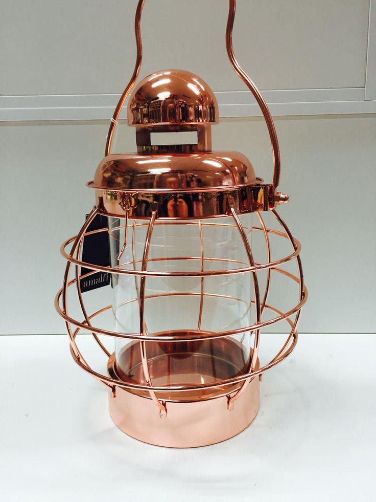 Rose Gold lantern