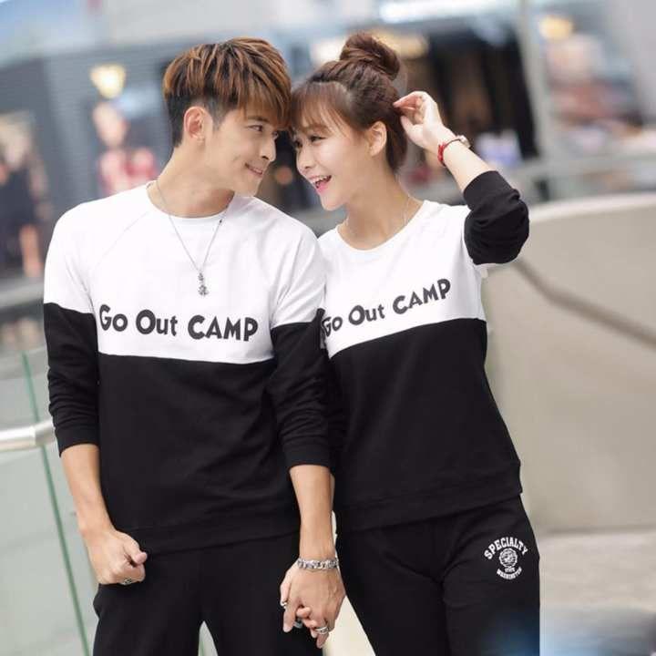 Baju Couple Pasangan Lengan Panjang