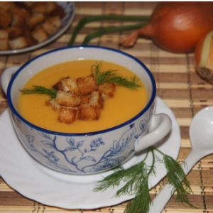French pumpkin soup. Recipes with photos.
