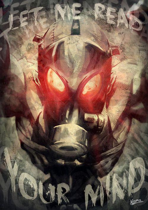 """Psycho Mantis from Metal Gear Solid"" byFernando Kazuo Miyahara"