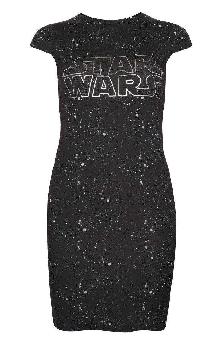 Women's Star Wars galaxy bodycon dress at Primark ⭐️ Geek Fashion ⭐️ Star Wars Style ⭐️ Geek Chic ⭐️