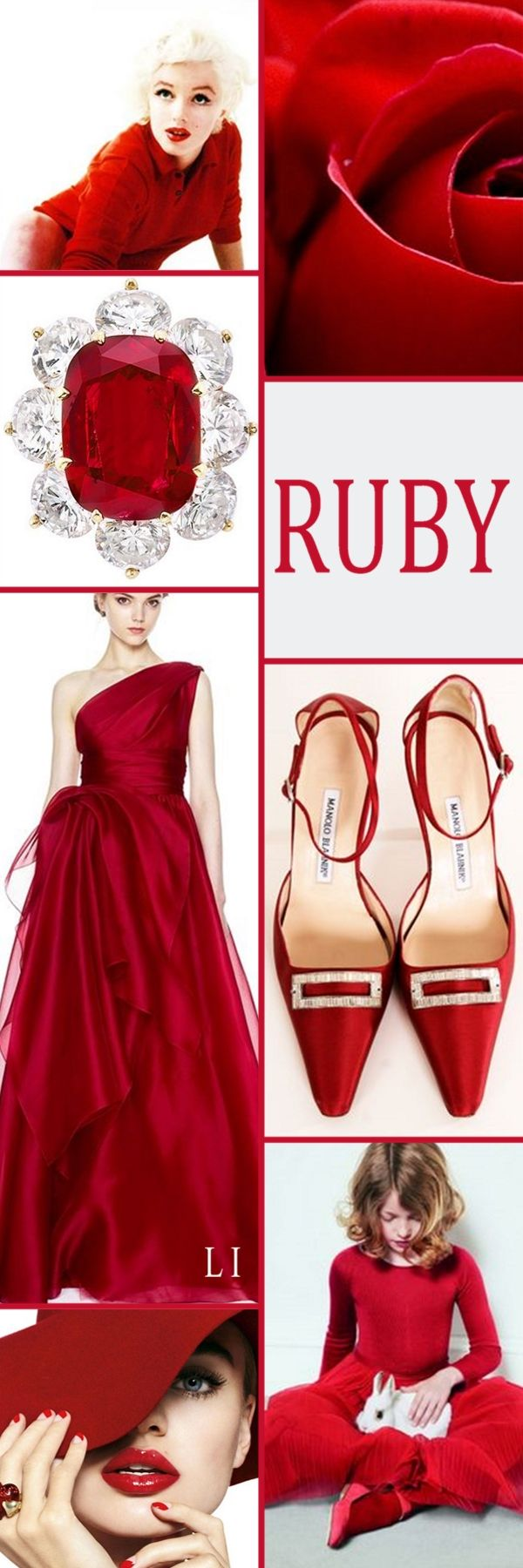 "Hi Ladies. Tonight's color "" RUBY RED"" . Thanks for the pretty board today.  Please check your pins after pinning to the board. The description will not change until after. Happy Pinning ❤"