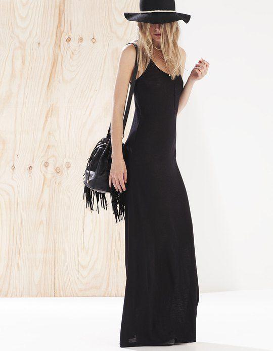 Maxi dress - CLOTHING - Stradivarius Ukraine