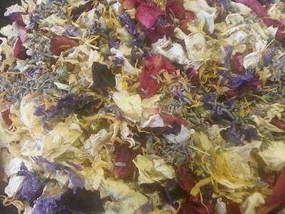 Dried Flower Petal Mix2 - Home Fragrance/ Wedding Confetti