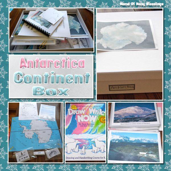 Montessori Continent Box: Antarctica - Mama of Many Blessings