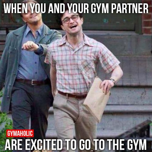 Funny Meme Gym : Best images about gym partner quotes on pinterest