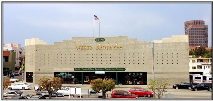 Wertz Brothers Furniture has been a favorite source of quality antiques, collectibles and used furniture in Los Angeles, CA. Come visit our showroom & shop today! We have been an industry staple since 1931, both to the trade and to private buyers. 55,000 square feet of