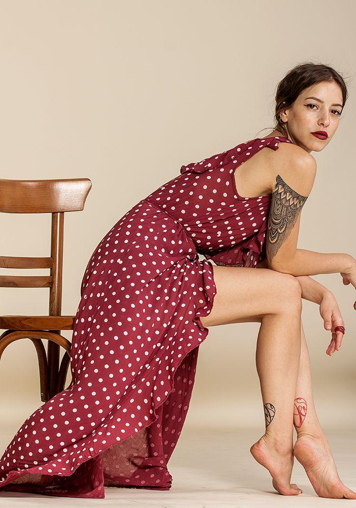Mimi Rojo Dress  by myfashionfruit.com