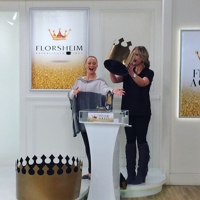 Behind the scenes fun ok Fit for a Queen day.  We hope you are all having a safe and happy long weekend.  Tune in as we uncover a special deal every hour!  #tvsn #tvshopping