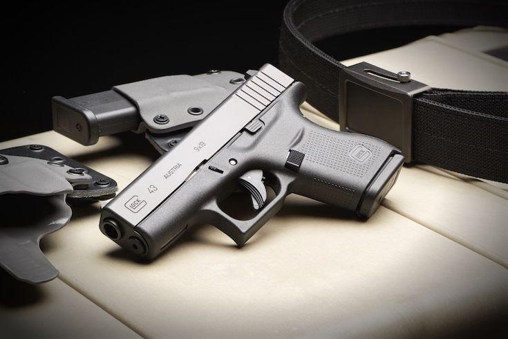 The long-awaited single stack 9mm Glock 43