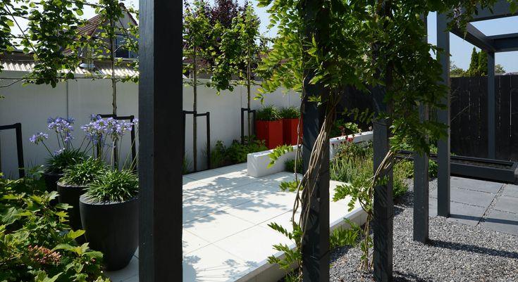Moderne onderhoudsvriendelijke achtertuin - Foto 8