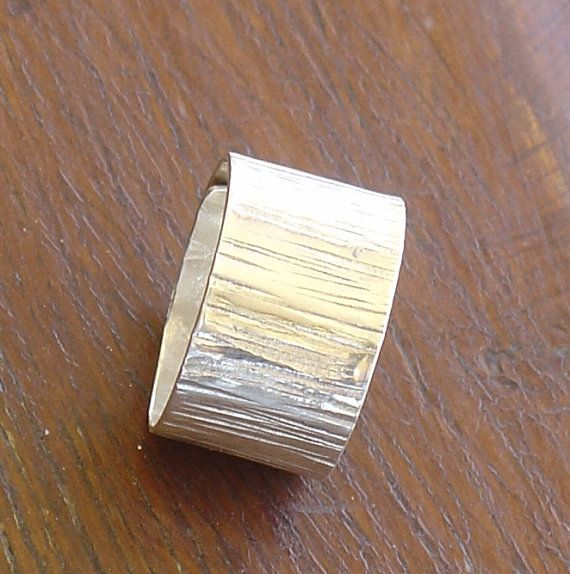 RING  handmade silver ring LINES H12 by Vroullis on Etsy, €33.00