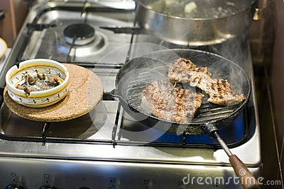 Cooking And Smoking - Download From Over 42 Million High Quality Stock Photos, Images, Vectors. Sign up for FREE today. Image: 38644038