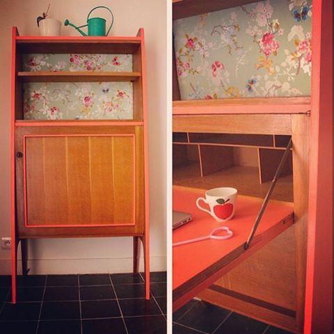 Les 22 meilleures images propos de meuble secr taire for Meuble bureau 974