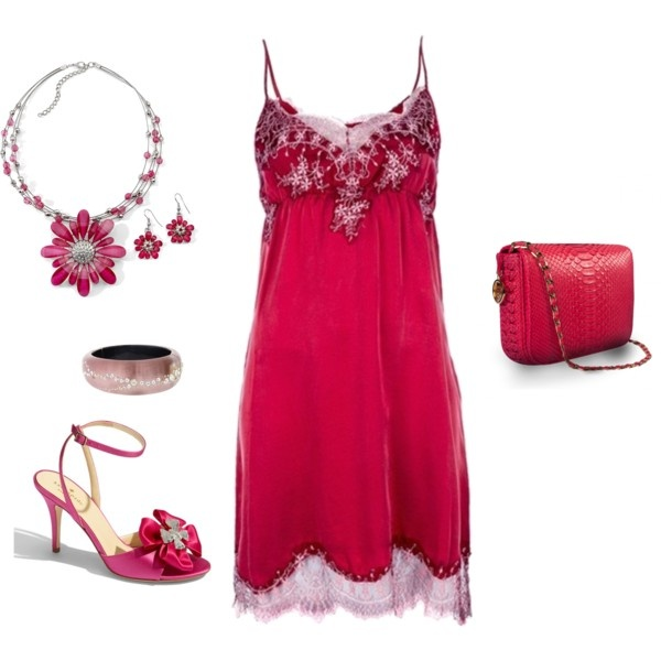 Pink and Flirty!, created by donna-williams-burgess.polyvore.com