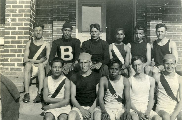 Bacone College Track team, 1914-15