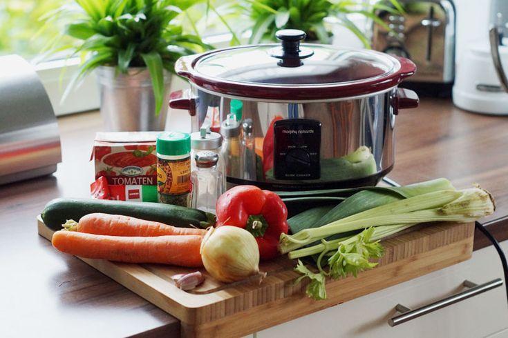 Gemüsebolognese - die Zutaten