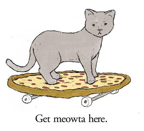 Get meowta here.