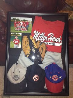 Kid shadow box, want to do this with my sons all stars jersey