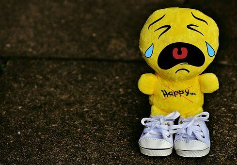 Hymiö, Itkeä, Surullinen, Lenkkarit