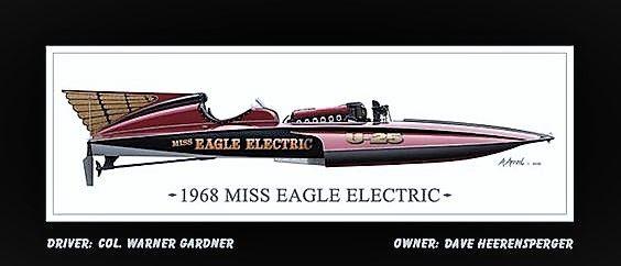 "1968 ""Miss Eagle Electric"" U-25"