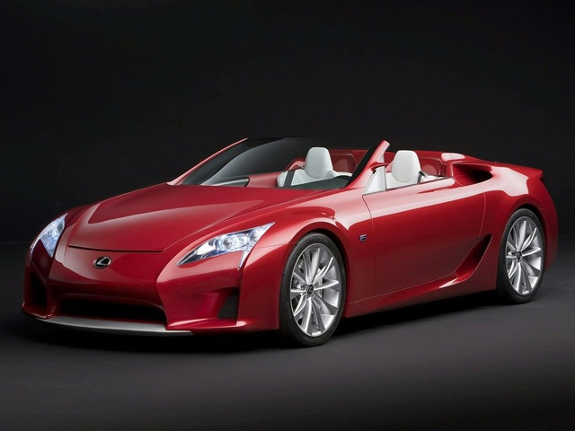 Lexus LFA Roadster Concept Car Images Exotic Car Wallpapers Of 73 : Diesel  Station