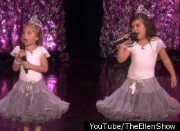 Sophia Grace and Rosie from the 'Ellen' Show. What's not to love?