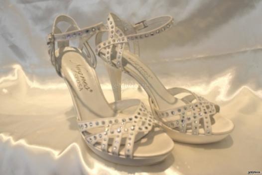 Scarpe da sposa con cristalli Swarovski