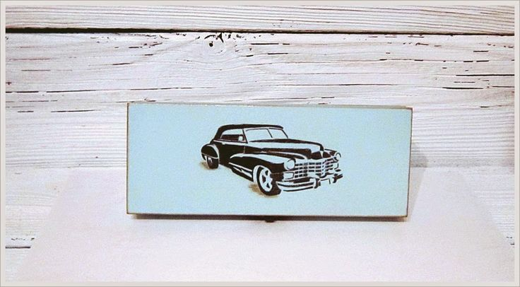 Sosnowy  DEKUFEREK: Retro car