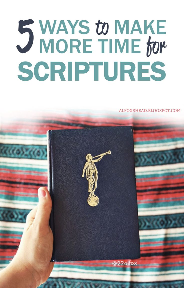 The reality is you have a spirit living inside of you and it's crucial to feed it. 5 easy ways to make more time to read scriptures.  Al Carraway, LDS Blogger