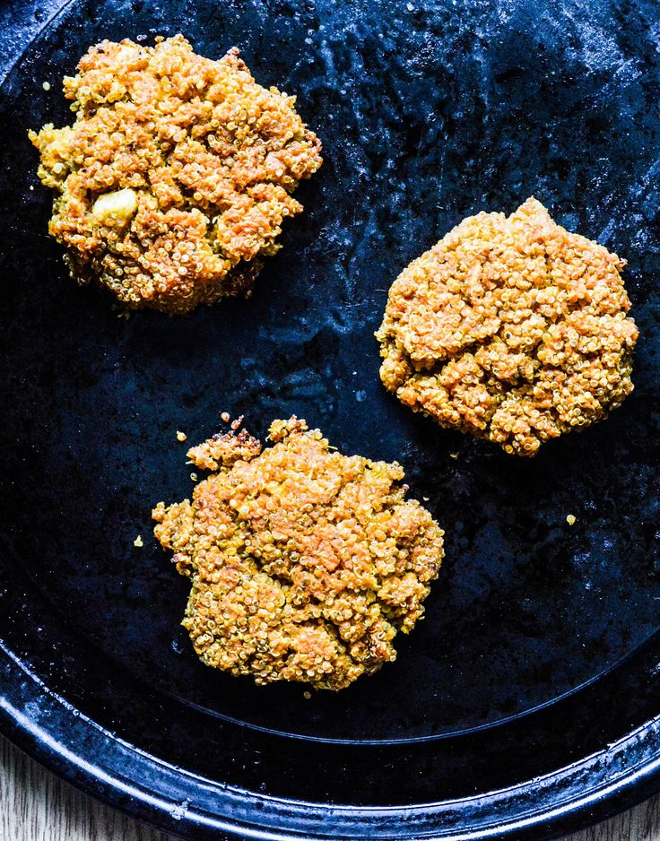 This recipe for Turmeric Sweet Potato Quinoa Fritters is quick, versatile, full of anti-inflamatory ingredients (like turmeric) and the Finnish berry buckthorn adds a Vitamin C kick (which is never a bad thing!)