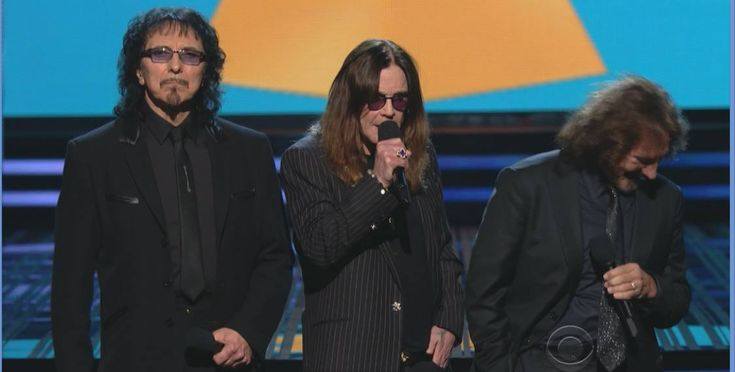 Tony and his bandmates at Grammy Awards 2014...
