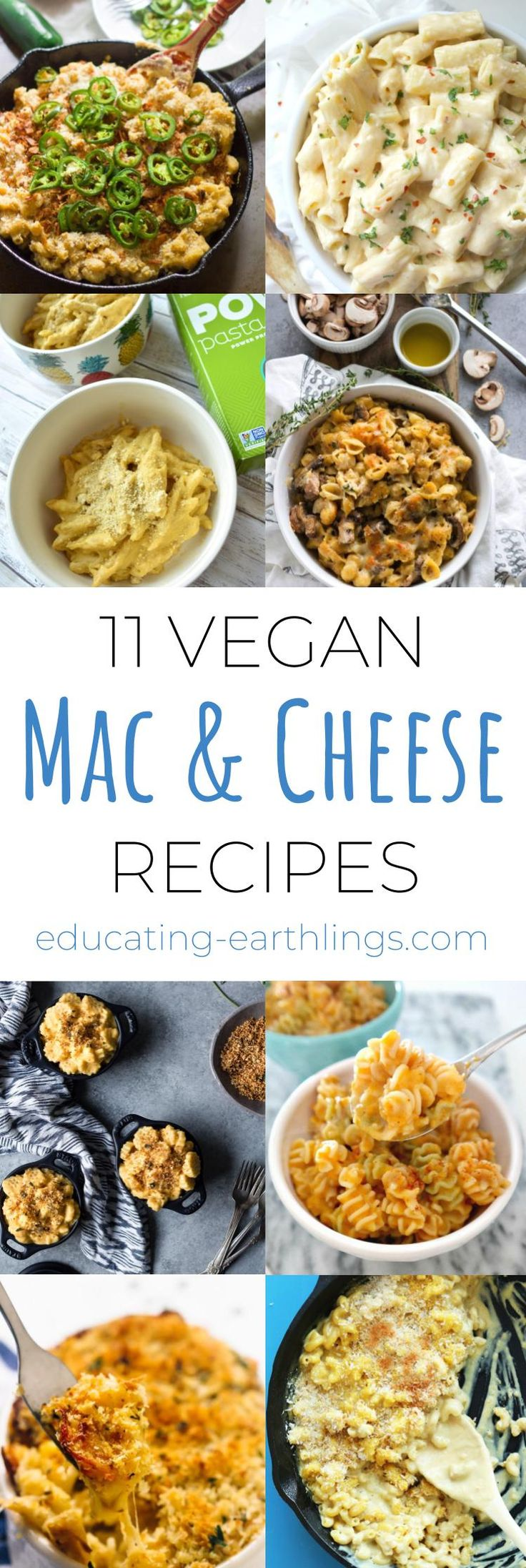 Vegan mac & Cheese recipes
