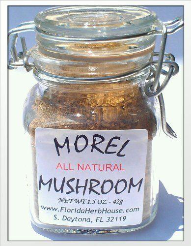 Morel Mushroom Powder 1.5 oz. (42g) - Organic Eco Friendly Gifts! - Eco-Spices! - http://spicegrinder.biz/morel-mushroom-powder-1-5-oz-42g-organic-eco-friendly-gifts-eco-spices/