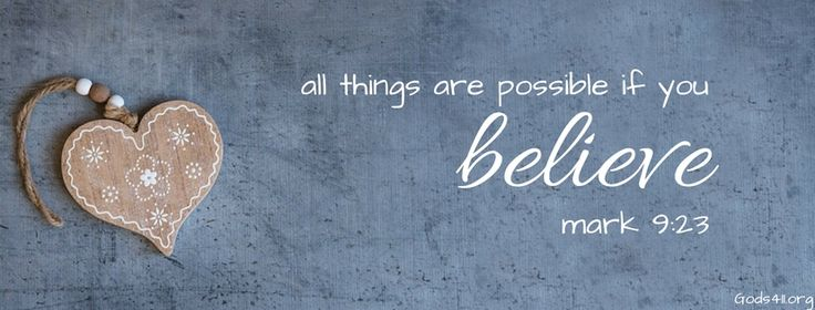 Believe | Christian Facebook Cover