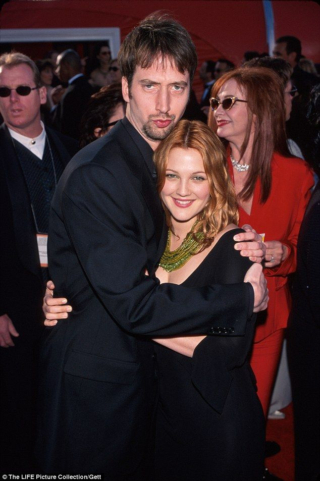 Drew Barrymore and Tom Green Duration: 9 Months  We never knew that Drew Barrymore married one of her love interests in Charlie's Angels – The Chad, Tom Green. There's not much details about the divorce other than irreconcilable differences.