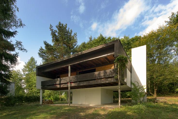 House of Jan Bočan / Slapy / photo by Rostislav Zapletal